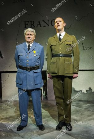 Tom Conti as Philippe Petain, Laurence Fox as Charles de Gaulle