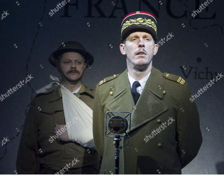 Stock Picture of James Chalmers  Laurence Fox as Charles de Gaulle