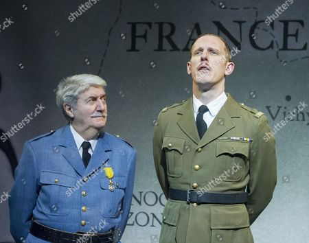 Editorial picture of 'The Patriotic Traitor' Play written and directed by Jonathan Lynn performed at the Park Theatre, London,UK, 18 Feb 2016
