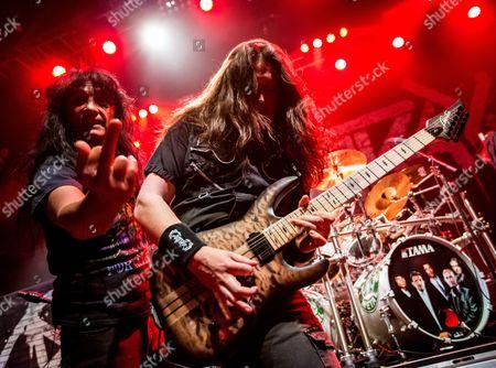 Anthrax - Joey Belladonna and Jonathan Donais