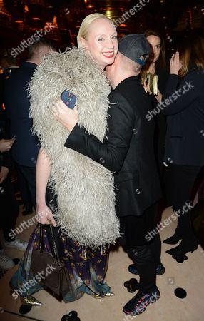 Gwendoline Christie and Andrew Davies