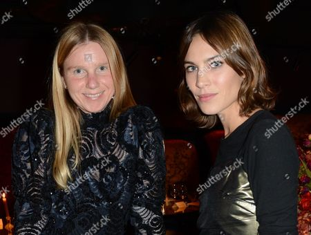 Katie Hillier and Alexa Chung