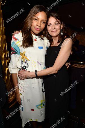Naomie Harris and Susan Young