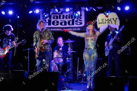 Editorial image of Nik Turner's Space Ritual in concert, Talking Heads, Southampton, Britain - 12 Feb 2016