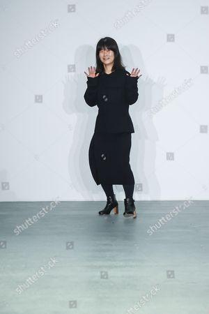 Editorial image of J. JS Lee Show, Runway, Autumn Winter 2016, London Fashion Week, Britain - 19 Feb 2016