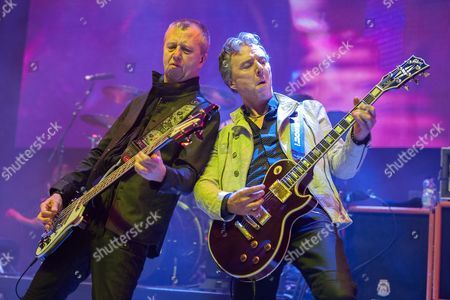 Editorial photo of Thunder in concert at The Clyde Auditorium, Glasgow, Britain - 18 Feb 2016