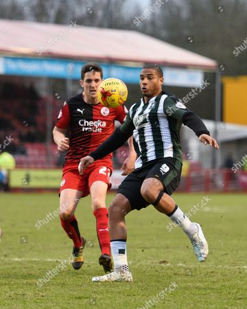 Editorial picture of Crawley Town v Plymouth Argyle, Sky Bet League 2 - 20 Feb 2016