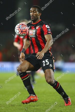 Sylvain Distin of Bournemouth in action