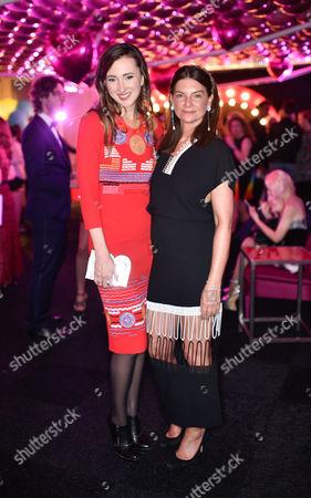 Maria Baibakova and Natalie Massenet