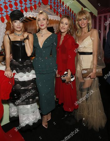 Stock Picture of Elena Perminova, Guest, Lyza Onysko, Sophie Ashby, Guest