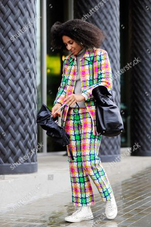 Chioma Nnadi at St Pancras after Emilia Wickstead