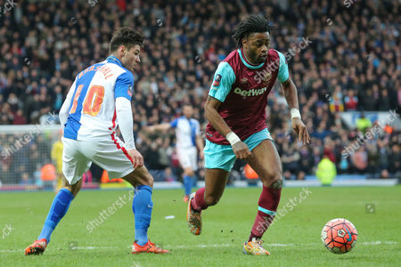 Editorial photo of Blackburn Rovers v West Ham United, The FA Cup - 21 Feb 2016