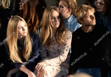 Immy Waterhouse, Suki Waterhouse and Brandon Green