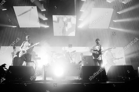 Foals - Yannis Philippakis, Walter Gervers, Jimmy Smith and Edwi