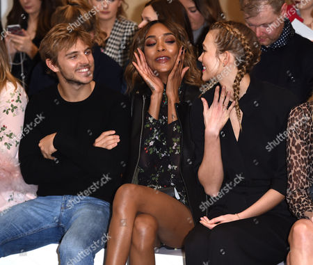Brandon Green, Jourdan Dunn and Karlie Kloss