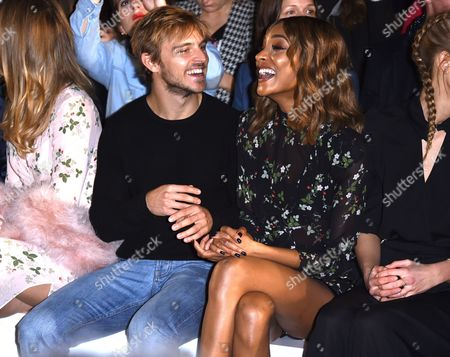 Brandon Green and Jourdan Dunn