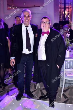 Rifat Ozbek and Alber Elbaz