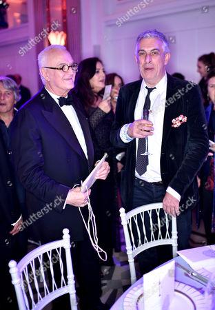 Manolo Blahnik and Rifat Ozbek