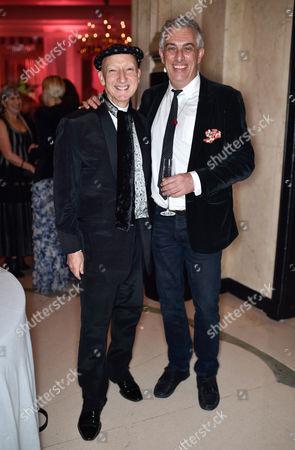 Stephen Jones and Rifat Ozbek