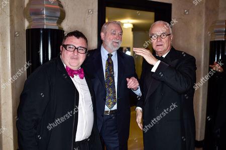 Alber Elbaz, Colin McDowell and Manolo Blahnik