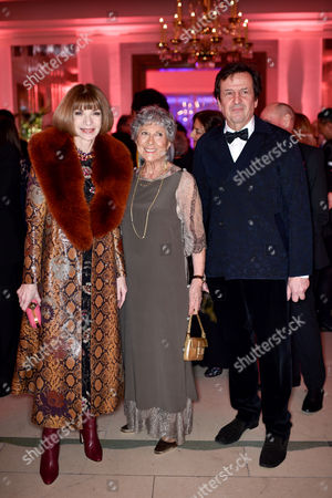 Editorial photo of Mrs B's 90th Birthday party at Claridge's, London, Britain - 21 Feb 2016