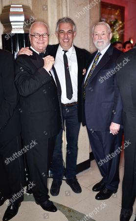Manolo Blahnik, Rifat Ozbek and Colin McDowell