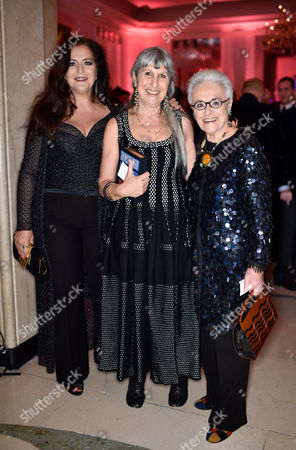 Stock Image of Angela Missoni, Caroline Burstein and Rosita Missoni