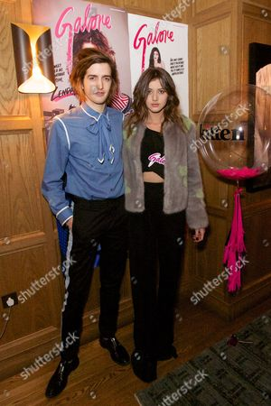 Maximilian Hurd and Eleanor Calder