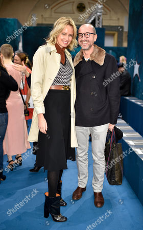 Bodil Blain and Gianluca Longo in the front row
