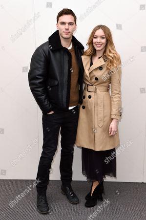 Nicholas Hoult and Rosanna Hoult