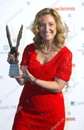 Stock Image of Claire Bertschinger, the Red Cross nurse who inspired Live Aid, with the Window to the World award