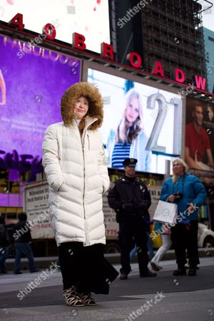 Editorial picture of Down's Syndrome model Madeline Stuart, New York, America - 17 Feb 2016