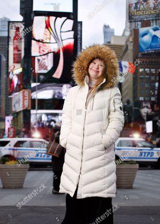 Editorial photo of Down's Syndrome model Madeline Stuart, New York, America - 17 Feb 2016