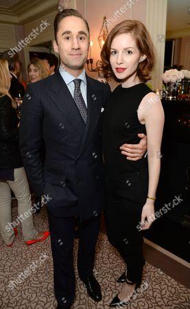 Editorial photo of London Fashion Week Party with David Downton, Stephen Jones and Virginia Bates at Claridge's, London Fashion Week, Britain - 22 Feb 2016