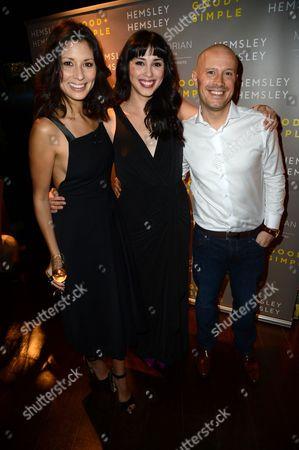Jasmine Hemsley and Melissa Hemsley, Dale Pinnock