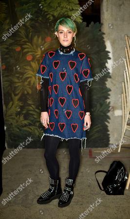 Editorial picture of Erdem x Selfridges Wrap Party, Autumn Winter 2016, London Fashion Week, Britain - 22 Feb 2016