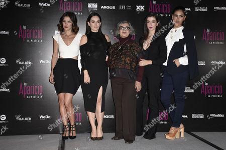 Iliana Fox, Ana de la Reguera, Maria del Carmen Farias, Erendira Ibarra, Liz Gallardo