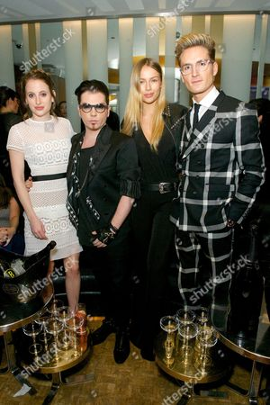 Rosie Fortescue, Joshua Fenu, Emma Louise Connolly and Oliver Proudlock
