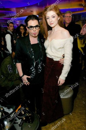 Editorial image of JF London Party at W Hotel, London Fashion Week, Britain - 22 Feb 2016