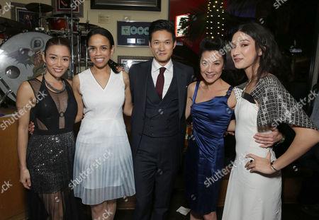 JuJu Chan, Pauline Fischer, Harry Shum Jr., Michelle Yeoh, Natasha Liu Bordizz