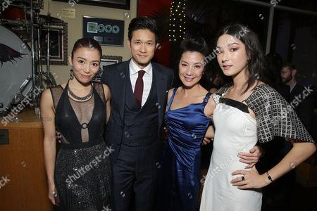 JuJu Chan, Harry Shum Jr., Michelle Yeoh, Natasha Liu Bordizz