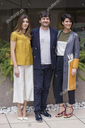 Vittoria Puccini, Fabio De Luigi and Giulia Bevilacqua
