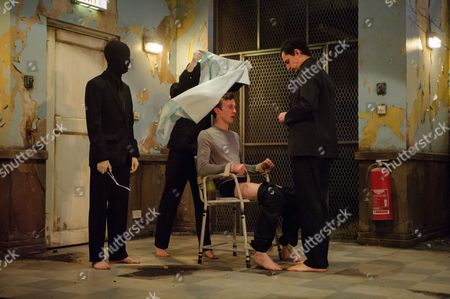 Editorial photo of 'Cleansed' play, photocall, Dorfman, National Theatre, London, Britain - 22 Feb 2016