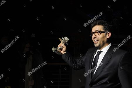 Danis Tanovic with the Jury Grand Prize Silver Bear