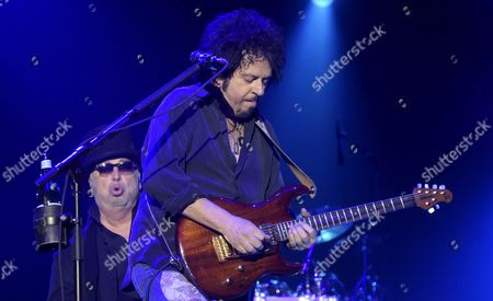 Singer David Paich (left) and guitarist Steve Lukather