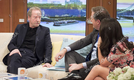 Bill Paterson with Piers Morgan and Susanna Reid
