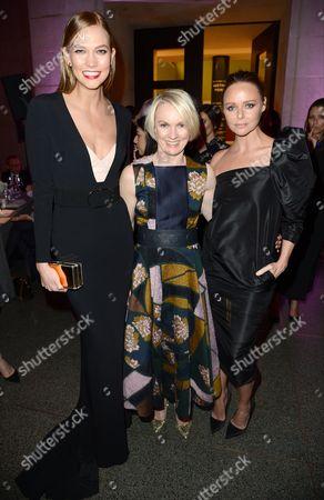 Karlie Kloss, Lorraine Candy and Stella McCartney