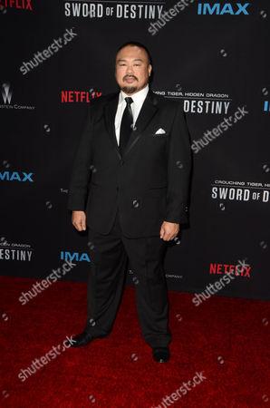 Editorial photo of 'Crouching Tiger, Hidden Dragon: Sword Of Destiny' film premiere, Los Angeles, America - 22 Feb 2016