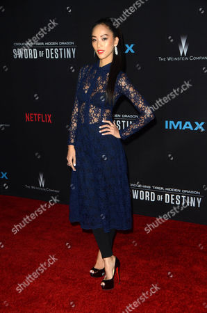 Editorial picture of 'Crouching Tiger, Hidden Dragon: Sword Of Destiny' film premiere, Los Angeles, America - 22 Feb 2016