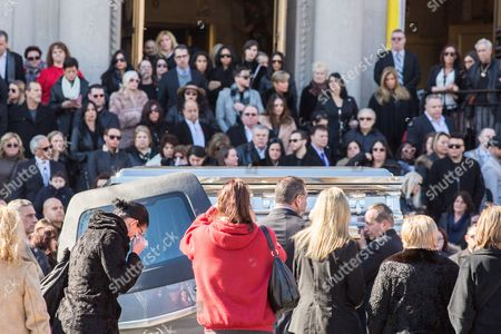 Editorial picture of Funeral of Angela Raiola aka Big Ang, New York, America - 22 Feb 2016